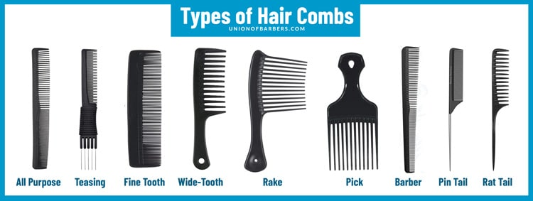 types-of-hair-combs